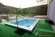 Venkovní ochlazovací bazén