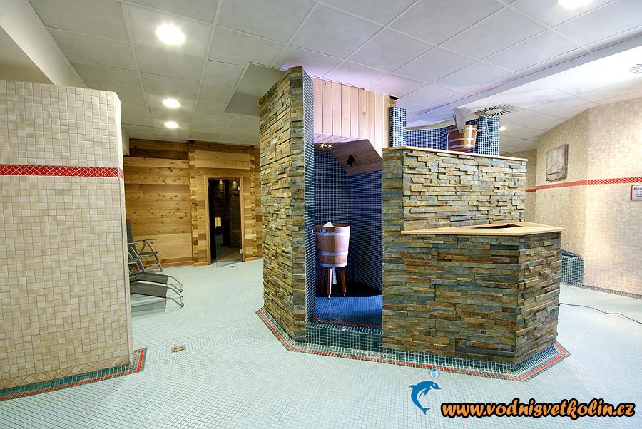 Centrální prostor sauny